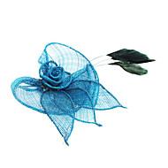 저렴한 -여성용 패브릭 헤딩 - 캐주얼 꽃 클래식 여성 스타일