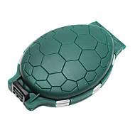 Durable Forma Tortuga Anzuelo cuadro titular para Green pescadores-Army