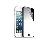 Mirror Hardcover Front og Back Screen Protector med Rengøringsklud for iPhone 5/5S