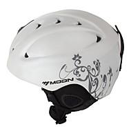 MOON 스키 헬맷 남성용 여성용 도로 사이클링 사이클링 스노우 스포츠 스키 스노우보드 산 하프 쉘 가벼운 무게 CE