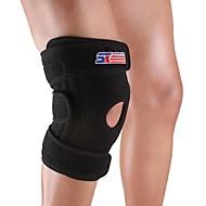膝用サポーター スポーツサポート 容易に痛み 耐久性 スキー 登山 バスケットボール 野球 キャンピング&ハイキング ランニング 黒フェード