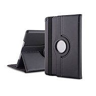 cheap iPad Accessories-Case For iPad 4/3/2 with Stand 360° Rotation Full Body Cases Solid Color PU Leather for iPad 4/3/2