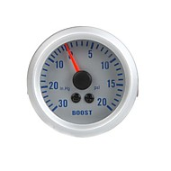 baratos Gadgets & Peças Para Carros-Turbo Boost Vácuo Medidor Medidor de Auto Car 2 0 ~ 52 milímetros 30in.Hg 0 ~ 20PSI Laranja Luz