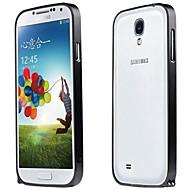 Voor Samsung Galaxy hoesje Schokbestendig hoesje Bumper hoesje Effen kleur Aluminium Samsung S4