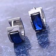 여성 링 귀걸이 의상 보석 스테인레스 티타늄 스틸 모조 다이아몬드 보석류 제품 일상 크리스마스 선물