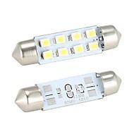 preiswerte -Girlande Auto Weiß 4W 4000-4500 Instrumenten Anzeige Licht Lese Lampe Nummernschild Licht Blinklicht Bremslicht Rückfahrscheinwerfer