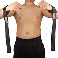 手の手首のバーサポートストラップリフティングパッド入り重量 - フリーサイズ
