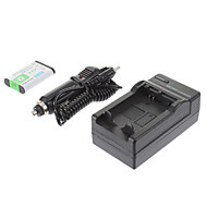 ismartdigi-Sony NP-BX1 (2pcs) 1240mAh, 3.7V batería de la cámara + cargador de coche para SONY RX100/RX100II/RX1/RX1R/GWP88E