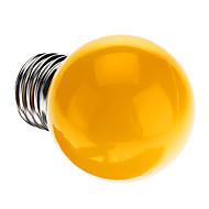 お買い得  LED ボール型電球-0.5W 50 lm E26/E27 LEDボール型電球 G45 7 LEDの DIP LED 装飾用 イエロー AC 220-240V