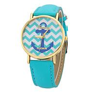voordelige Modieuze horloges-Dames Modieus horloge Kwarts Band Zwart Wit Blauw Rood roze