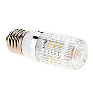 E26/E27 LED kukorica izzók 27 led SMD 5630 Meleg fehér 680-760lm 2500-3500K AC 85-265V