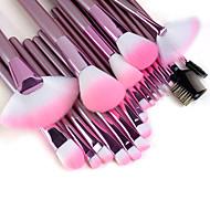 abordables Maquillaje y manicura-22pcs Pinceles de maquillaje Profesional Sistemas de cepillo / Cepillo para Colorete / Cepillo para Base Pincel de Nylon / Pelo Sintético / Pincel de Fibra Artificial Portátil / Profesional