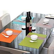 Moda Wystarczy Style Assorted Kolor rozłożony Podkładka na obiad, L45cm x szer. 30cm, żaroodporne PVC