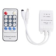 abordables Controladores RGB-Inteligente IR-D DC 12V 6A Single Channel Controller Dimmer IR - blanco (1 x CR2025)
