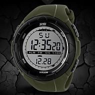 Недорогие Фирменные часы-SKMEI Муж. Цифровой электронные часы / Наручные часы / Спортивные часы Будильник / Календарь / Секундомер / Защита от влаги / Творчество