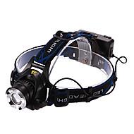 Χαμηλού Κόστους Φακοί-Φακοί Κεφαλιού Μπροστινό φως LED 900/1600/1200/450 lm 3 Τρόπος Cree XM-L T6 Cree XM-L2 T6 με μπαταρίες και φορτιστή Επαναφορτιζόμενο