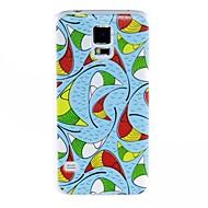 Для Кейс для  Samsung Galaxy С узором Кейс для Задняя крышка Кейс для Геометрический рисунок PC Samsung S5