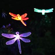Solar cambia colore Libellula Garden Stake Luce