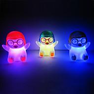 펭귄 Rotocast 색깔 변화 밤 빛 (색상 랜덤)