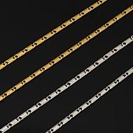 abordables Joyería y Relojes-Mujer Collares de cadena - Chapado en Plata, Chapado en Oro Moda Plata, Dorado Gargantillas Joyas Para Boda, Fiesta, Diario