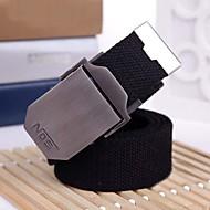 abordables Cinturones para Hombre-Hombre Cinturón Ancho - Activo Básico Un Color