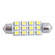 お買い得  -SO.K 1個 車載 電球 3W W SMD LED lm インテリアライト