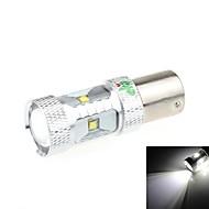 1156 30W 6-LED 2500LM 6500K White Light LED for Car Reversing Light(DC 9-24V)