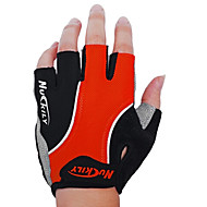 Nuckily Sports Gloves Bike Gloves / Cycling Gloves Breathable Wearproof Shockproof Anti-skidding Fingerless Gloves Lycra PU Cycling / Bike