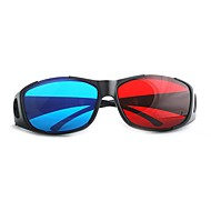 3D Gözlükler Kırmızı/Mavi Anaglif 3D