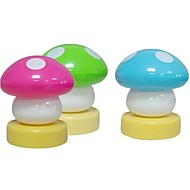 abordables Gadgets LED-moda comodo palmadita pequeña seta LED de la noche (color al azar)