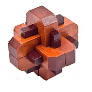 cheap -Wooden Puzzle IQ Brain Teaser Professional Level Speed Wooden Classic & Timeless Boys' Gift