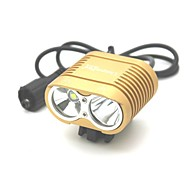 preiswerte Taschenlampen, Laternen & Lichter-Radlichter LED 3000 Lumen 3 Modus Cree XM-L T6 Stoßfest Wiederaufladbar Wasserfest für Camping / Wandern / Erkundungen Für den täglichen