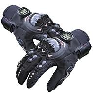 PRO-BIKER Sporthandschuhe Fahrradhandschuhe warm halten Rasche Trocknung tragbar Atmungsaktiv Wasserdicht Schützend Vollfinger Silikon