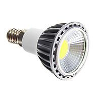 お買い得  LED スポットライト-調光可能E14 5W 50-400LM 6000-6500KコールドホワイトライトLEDスポット電球(220-240V)