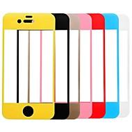 ссылка мечта красочный премиум закаленное стекло протектор экрана с держателем для iPhone 4 / 4s