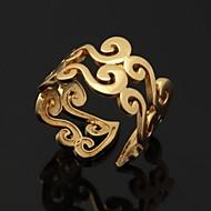 halpa -Naisten Parisormukset Statement Ring Band Ring Avoin Säädettävä Platinum Plated Gold Plated Pukukorut Häät Party Päivittäin Kausaliteetti