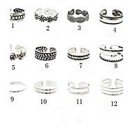 ieftine Bijuterii&Ceasuri-Inel pentru degetul de la picior / manşetă Ring Floare Design Unic, Vintage, European Pentru femei 10 / 11 / 12 Bijuterii de corp Pentru Petrecere / Zilnic / Casual