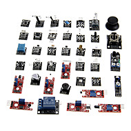お買い得  Arduino用アクセサリー-kt0012 Arduinoのための37-in-1のセンサモジュールキット(公式のArduinoボードで動作します)