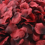 povoljno -tamno crvena i crna latice ruže Ukrašavanje stola (set od 100 latica)