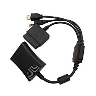 cheap Xbox 360 Accessories-PS2 to Xbox 360 PS3 Controller Converter Cable Cord for PS3 Microsoft Xbox 360