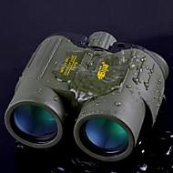 preiswerte Ferngläser-Bijia 8x 42 mm Ferngläser Weitwinkel / wasserdicht 114m / 1000m Mitteltrieb Zoomferngläser / Nachtsicht grün / schwarz