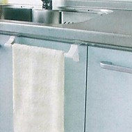 voordelige Badkamergadgets-Handdoekstang Hoge kwaliteit Hedendaagse PVC 1 stuks - Hotel bad 1-handdoekstang