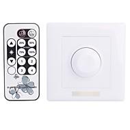 abordables Interruptores  y Enchufes-8a 1 canal inteligente ir dimmer con mando a distancia para la luz led (300w ac 90 ~ 240v)