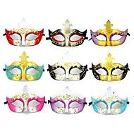 abordables Disfraces y Cosplay-1pc Plástico Máscaras de Halloween Máscaras