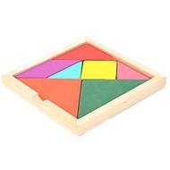 tangram en bois jouet puzzle éducatif