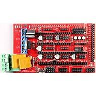 robotale RAMPS 1.4 RepRap MendelPrusa 3d printer styrekort - rød + sort
