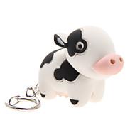 LED osvětlení / Klíčenka Cow Animák Klíčenka / LED osvětlení / Ses Ivory ABS