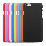 abordables 70% de DESCUENTO y Más-Funda Para Apple iPhone 6 iPhone 6 Plus Congelada Funda Trasera Color sólido Dura ordenador personal para iPhone 6s Plus iPhone 6s iPhone