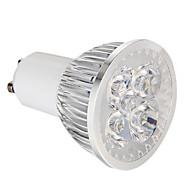 voordelige LED-spotlampen-360 lm GU10 LED-spotlampen 4 leds Krachtige LED Dimbaar Natuurlijk wit AC 220-240V