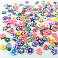 cheap Nail Art-300 Fruit Fimo Decoration Kits Flower Fashion Wedding High Quality Daily